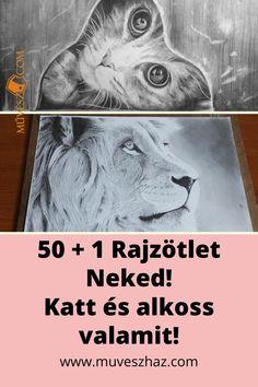 Cica rajz - 50+1 rajtötlet Neked! Katt és alkoss valamit! >> Techno, Movie Posters, Art, Art Background, Film Poster, Kunst, Performing Arts, Techno Music, Billboard