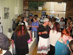 Exhibition Opening ; Timeless Textiles, Islington NSW March 2012