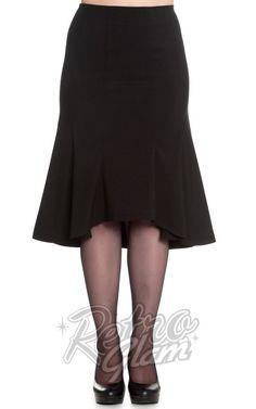 Hell Bunny Dory Skirt in Black