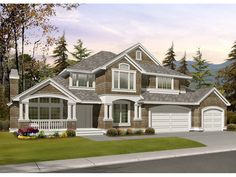 Scoville Place Modern Home Plan 071D-0122 | House Plans and More