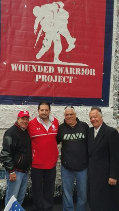 Great day at the NYC Veterans Day Parade w/ 2 of our favorite Sopranos stars and the founder of The Wounded Warriors Project.  To donate please visit the website:  #VeteransDay #Donate #Veterans #NYC