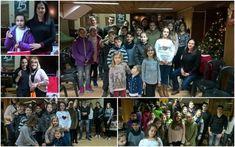 Το παιδικό - εφηβικό τμήμα του Συλλόγου Βλάχων Νάουσας έκοψε την βασιλόπιτα