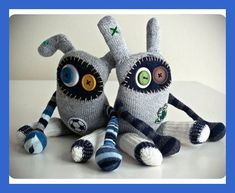 i really can't decide a favorite- i love all of the RAWR Cr Ugly Dolls, Cute Dolls, Doll Clothes Patterns, Doll Patterns, Zombie Dolls, Monster Dolls, Felt Monster, Sock Animals, Clay Animals