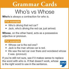 Have you ever been confused by these two words? English Grammar Rules, Grammar And Punctuation, Teaching Grammar, Grammar And Vocabulary, Grammar Lessons, English Language Learning, English Vocabulary, Teaching English, Grammar Skills