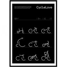 CycleLove, first print, James Greig