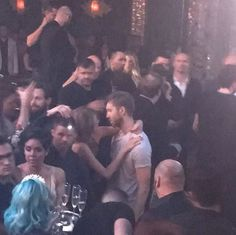 Taylor Swift & Calvin Harris spend New Year's Eve together on December 31, 2015. (Courtesy of Twitter)Visit the post for more.
