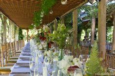 Hanging Tea Lights, Florists, Summer Sun, Ferns, Summer Wedding, Wedding Flowers, Pergola, Outdoor Structures, Natural