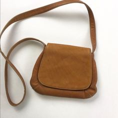 Frye Light Brown Crossbody EUC Small sign of wear stain pictured. Magnetic clasp. Authentic Frye. Make an offer using the offer button or take advantage of my bundle discount! Trades Frye Bags Crossbody Bags