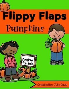 Pumpkin Flippy Flaps!  This is a great way to get your students learning about pumpkins in a fun hands-on interactive way! Your students will be engaged and learn about pumpkins in many different ways!  Activities included: - Pumpkins need/have/are - Pumpkins have/look/feel - Pumpkin Writing Prompt - Label a pumpkin - Life Cycle of a Pumpkin - How to Carve a Pumpkin - What You Can Make with Pumpkins - Pumpkin KWL - Pumpkin Vocabulary - Pumpkin Facts - Five Senses with Pumpkin - Compare…