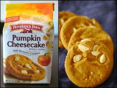 Don't buy these. I want them all for myself! - Pepperidge Farm Pumpkin Cheesecake Cookies