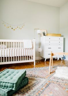 pale mint green nursery
