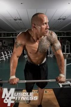 I want him to bench press me!!! ;) Love him!