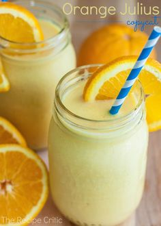 Orange Julius Copycat at http://therecipecritic.com  This is such a delicious treat that tastes EXACTLY like the real thing!