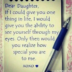 this is one of the quotes that makes me think of unfortunate families that are disabled or in this case blind i just feel how the mother wants her daughter to see herself in her mothers eyes but she cant cuz either the mother or the child is blind (did not figure out yet)