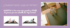 Yoga para niños. Beneficios y ejercicios en PDF Pilates, Yoga Poses, Fitness, Ballet, Kid Yoga, Toddler Yoga, Mental Health, Yoga Mats, Childhood Obesity