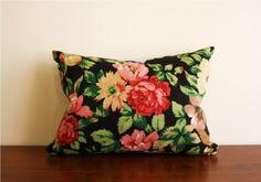 vintage pattern + flowers