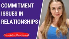 Why guys can't commit in relationships. Commitment issues in a relations...