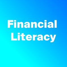 Financial Literacy, Finance, Logos, Logo, Economics