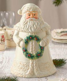 Santa Cookie Jar #zulily #zulilyfinds