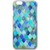 iPhone 6 Case Color Works Cute Cobalt Blue Aqua Gold Decorative Moroccan Tile Pattern Phone Case Custom PC Hard Case For Apple iPhone 6 4.7 Inch Phone Case. High Quality Snap on Design case for your iPhone 6 4.7 Inch. Choose from Many Colorful and sleek d