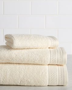 Welspun 3pc Cotton Towel Set