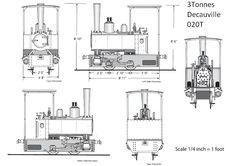 Locomotive Vintage Technical Drawing Engineering Bern