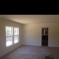 View from opposite wall of master bedroom