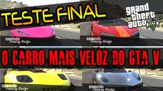 GTA V Online TESTE FINAL - O CARRO MAIS RÁPIDO DO GTA 5 É O BANSHEE 900R...