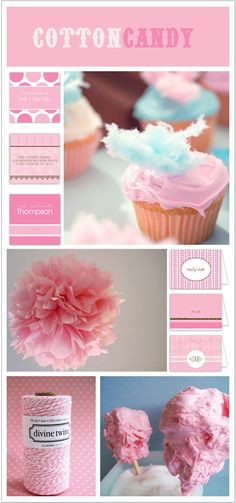 Cotton Candy Themed Party (cotton candy pink wigs, dresses, ostrich feathers, etc.)
