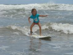Family Surf Camp... get them started young! #surf #Nosara #CostaRica