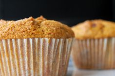 ***Sooo Yummy ***                         vegan pumpkin-cranberry muffins!