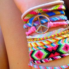 Summer bracelets, love.xox