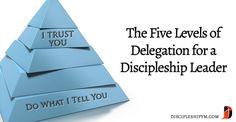 The Five Levels of Delegation for a Discipleship Leader