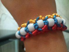 Bracciale tricolore