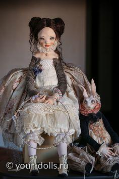 Artist doll by Alisa Filippova