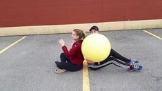 Round One Minute Clock Sitting: @gophersport #PhysicalEducation #PHED #PHEatHome Stability Ball, Physical Education, Bodies, Balls, Clock, Watch, Exercise Ball, Physical Education Lessons, Physical Education Activities
