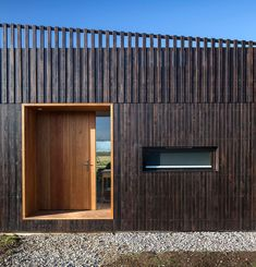 IPT architects clads howe farm residence in charred timber planks House Cladding, Timber Cladding, Exterior Cladding, Timber Architecture, Residential Architecture, Architecture Definition, Minecraft Architecture, Rural House, House In The Woods