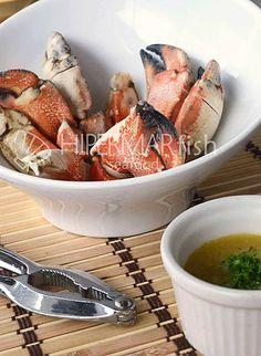 cómo preparar muelas de cangrejo