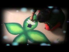 Learn Rangoli: How To Make Beautiful Rangoli Design For Diwali - YouTube