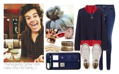 """""""Thanksgiving Dinner With Harry And His Family :)"""" by victoria7100 ❤ liked on Polyvore featuring Salsa, Oasis, Organic by John Patrick, Givenchy, Converse, Gold Toe, Typhoon and Maison Margiela"""