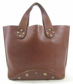AUTH PRADA Black Nylon Pocket Front Leather Strap Medium Tote ...