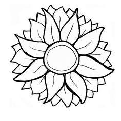 Free Sunflower SVG