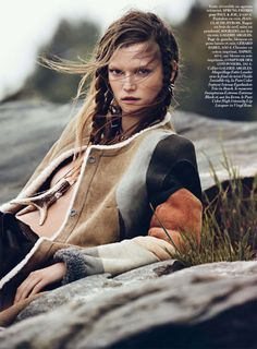 Kasia Struss by Lachlan Bailey for Vogue Paris September 2013
