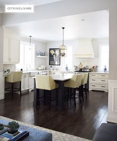 Kitchen Ideas No Upper Cabinets favorite before and afters | colors, world and accessories