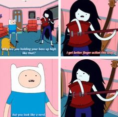 Adventure Time with Finn and Marceline