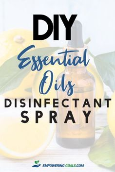Natural essential oil disinfectant spray recipe for cleaning your home  Learn how you can create your own natural essential oil disinfectant spray with this easy to use recipe. Works well on hard services and fabrics, Homemade cleaning products, DIY essential oil disinfectant spray, essential oils for cleaning, essential oils for windows,