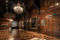 You know Rosings has a room like this. London Architecture, Futuristic Architecture, Inside Castles, Gothic Interior, Interior Design, Vision Photography, English House, English Manor, Ceiling Detail