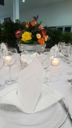 mesa en blanco