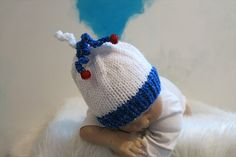 READY Christmas Ornament Beanie Newborn XMAS by babyknitsnthings