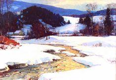Aldro Hibbard - Golden Glow (1887 -1972) 1928, 36x50